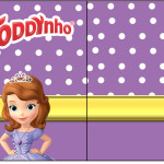 Rótulo ToddynhoPrincesa  Sofia da Disney: