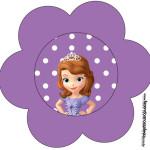Flor Princesa  Sofia da Disney:
