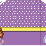 Envelope Convite Princesinha Sofia da Disney: