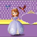 Rótulo Tubetes Princesa Sofia da Disney: