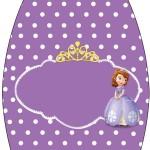 Rótulo Esmalte Princesinha Sofia da Disney: