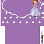 Saquinho de Chá Princesa Sofia da Disney:
