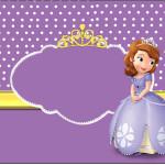 Rótulo Champagne, Vinho e Espumante Princesa Sofia da Disney: