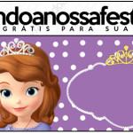 Rótulo Lápis Princesa Sofia da Disney: