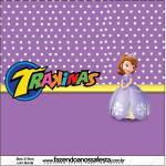 Rótulo Mini TrakinasPrincesa Sofia da Disney: