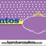 Rótulo Mentos Princesa Sofia da Disney: