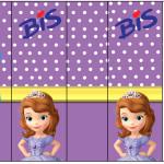 Rótulo Bis Princesinha Sofia da Disney: