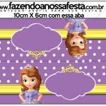 Saquinho de Balas Princesa Sofia da Disney: