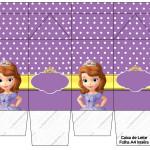 Caixa de Leite Princesa Sofia da Disney: