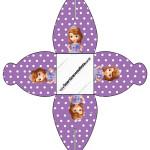 Caixa Princesa Sofia da Disney: