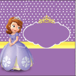 Mini Pastilha Docile Princesinha Sofia da Disney: