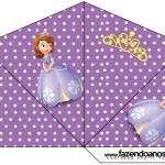 Cone Guloseimas Princesa Sofia da Disney: