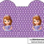 Caixa Coração Princesa Sofia da Disney: