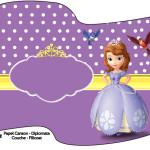 Bandeirinha Princesa Sofia da Disney: