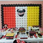 Tema: Mickey Mouse – Festa da leitora Luana Araujo Silva!