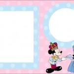 Mickey e Minnie Azul e Rosa para Gêmeos – Kit Completo com molduras para convites, rótulos para guloseimas, lembrancinhas e imagens!