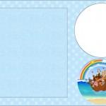 Arca de Noé – Kit Completo com molduras para convites, rótulos para guloseimas, lembrancinhas e imagens!