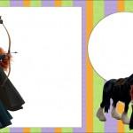 Valente (Brave – Disney) – Kit Completo com molduras para convites, rótulos para guloseimas, lembrancinhas e imagens!