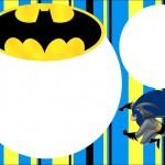 Batman – Kit Completo com molduras para convites, rótulos para guloseimas, lembrancinhas e imagens!