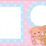 Ursinhos – Kit Completo com molduras para convites, rótulos para guloseimas, lembrancinhas e imagens!