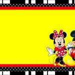 Mickey e Minnie – Kit Completo com molduras para convites, rótulos para guloseimas, lembrancinhas e imagens!