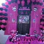 Tema: Monster High – Festa da Leitora Kamilly