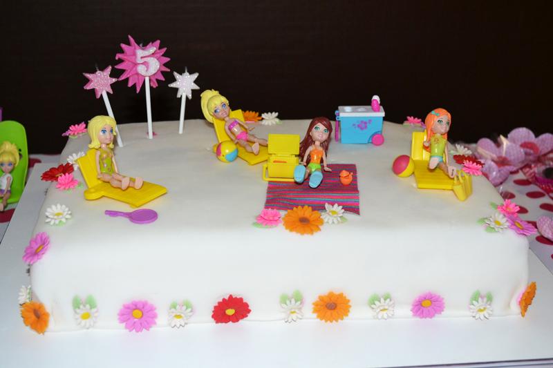 A Festa de 5 Anos - Tema Polly Pocket (202)