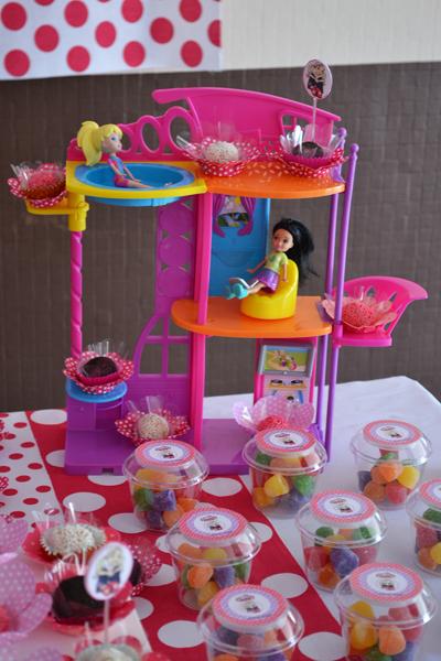 A Festa de 5 Anos - Tema Polly Pocket (64)