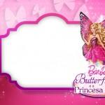 Barbie Butterfly  – Kit Completo Digital com molduras para convites, rótulos para guloseimas, lembrancinhas e imagens!
