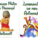 Ursinho Pooh – Livrinho de Atividades!!