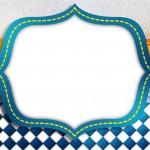 Fundo Cerveja e Quadriculado Azul – Kit Completo Digital com molduras para convites, rótulos para guloseimas, lembrancinhas e imagens!