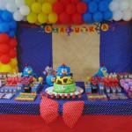 Tema: Galinha Pintadinha – Festa da Leitora Júlia Doya!
