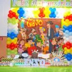 Tema: Chaves – Festa da Leitora Cintia Chagas Vaz Ferreira!