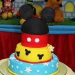Tema: Mickey Tradicional – Festa da Leitora Ludmilla Rocha!