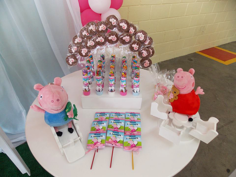 Doces Peppa Pig: