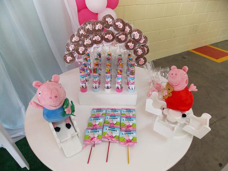 Doces Peppa Pig: