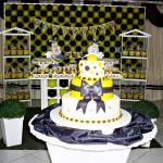 Tema: Abelinha – Festa da Leitora Alana