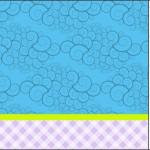 Azul e Lilás Xadrez – Kit Completo Digital com molduras para convites, rótulos para guloseimas, lembrancinhas e imagens!