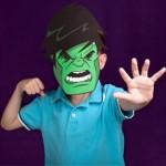 Máscara Incrível Hulk!