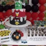 Tema: Angry Birds – Festa da Leitora Silvia Helena Moreira Rosado!