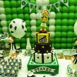 Tema: Futebol – Festa da Leitora  Tatiana Borges!