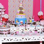 Tema: Cupcakes – Festa da Leitora Rose Cardoso!