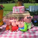 Tema: Peppa Pig – Festa da Leitora Ana Claudia!