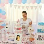 Tema: Chá de Bebê Corujinhas – Festa da Leitora Priscila Eloy!