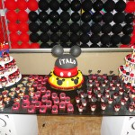 Tema: Mickey Mouse – Festa da Leitora Pamela!