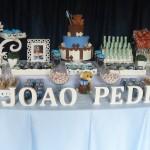 Tema: Ursinho Marrom e Azul – Festa da Leitora Michelle Alves!