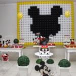 Tema: Mickey Mouse – Festa da Leitora Nádia Maria!