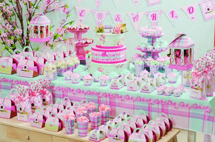 ideias para aniversario jardim encantado:Tema: Jardim Encantado – Festa da Leitora Caroline de Paula!