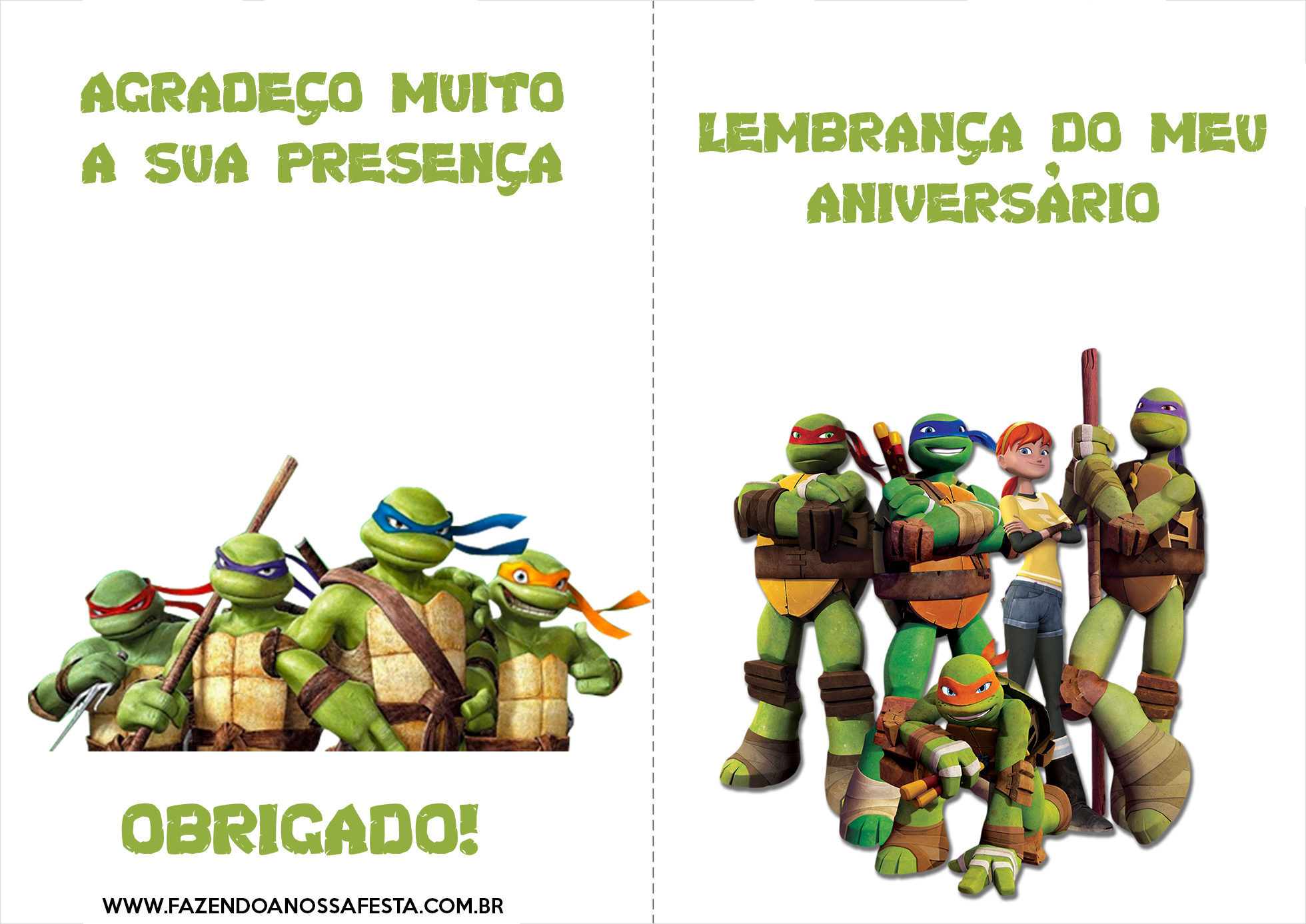 Arquivo Para Tartarugas Ninjas Fazendo A Nossa Festa