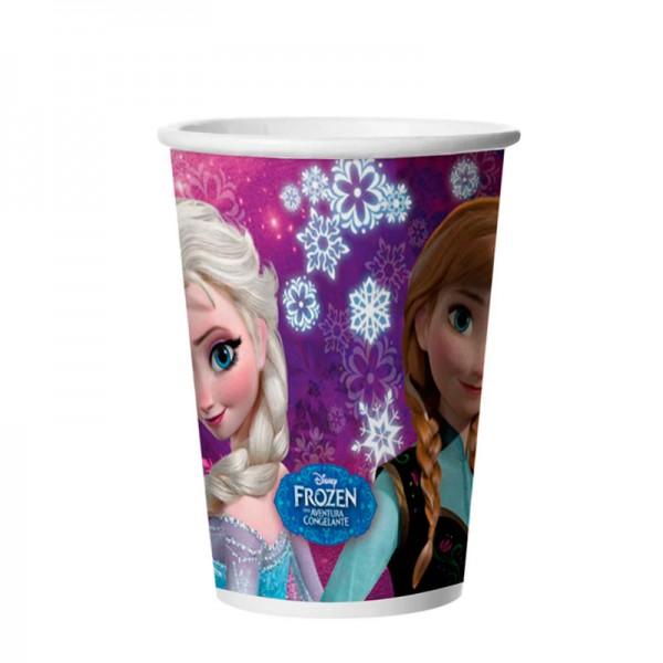 Copo Descartável Frozen: